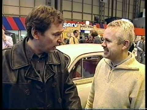 "English Wheeling machine on TV program ""A car is Reborn"""
