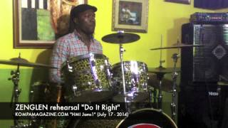"HMI ""JAMS"" 1: Zenglen rehearsal ""Do It Right"" (July 2014)"