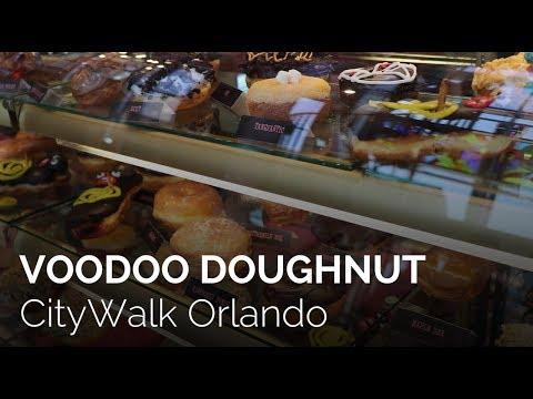 Inside Voodoo Doughnut in CityWalk at Universal Orlando