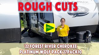 '22 Forest River Cherokee Platinum Wolf Pack 27PACK10