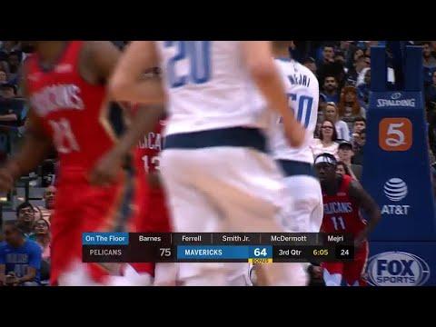 3rd Quarter, One Box Video: Dallas Mavericks vs. New Orleans Pelicans
