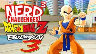 Nerd³ Challenges! Krillin Vs The World! - Dragon Ball Z: Budokai 3 HD