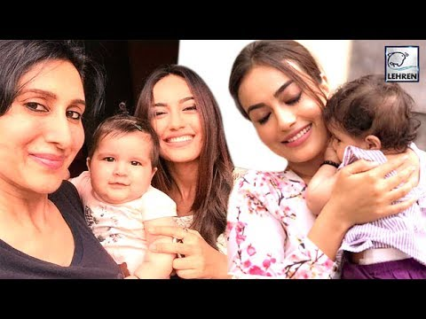 'Qubool Hai' Actress Surbhi Jyoti's ADORABLE Selfies With Karanvir Bohra's Twin Daughters