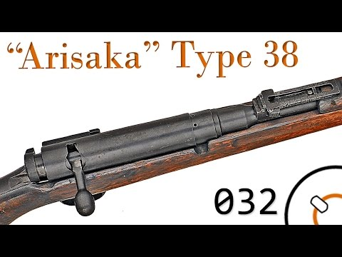 "Small Arms of WWI Primer 032: Japanese ""Arisaka"" Type 38"