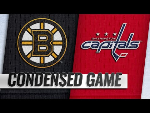 09/18/18 Condensed Game: Bruins @ Capitals