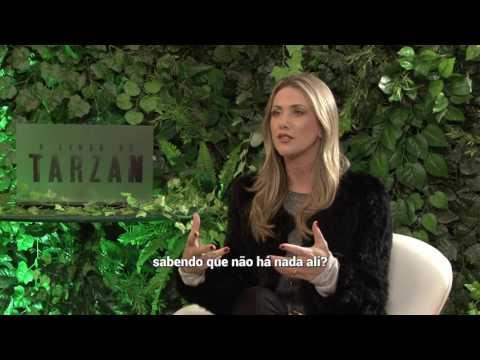 ALEXANDER SKARSGARD / TARZAN - interview with Erica Reis
