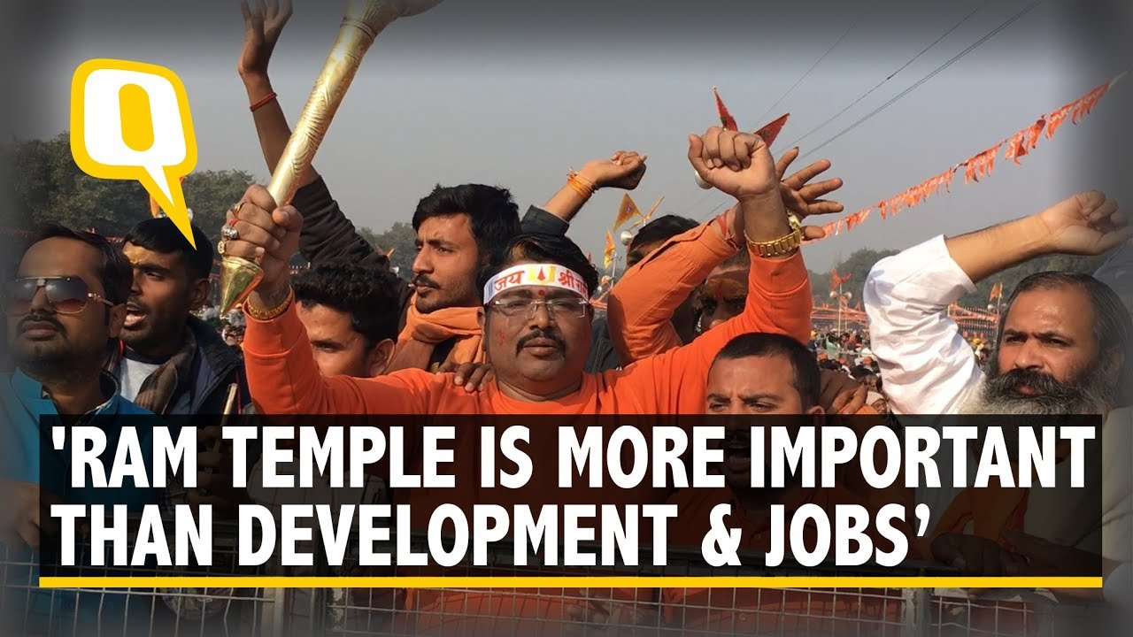'Ram Temple Is More Important Than Development and Jobs' | The Quint