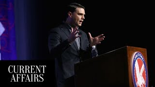 Ben Shapiro Is Scared Of Real Debate Because Deep Down He Knows He's Full Of Shit