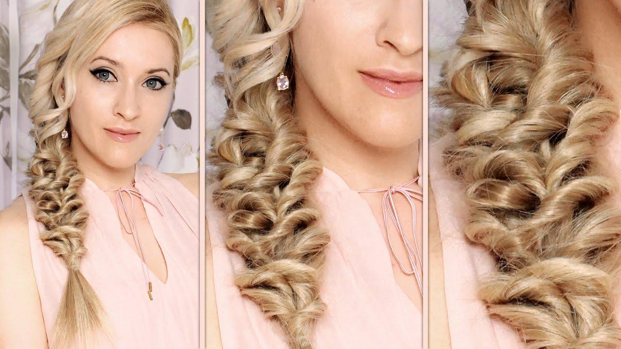 Online Hair Style: Mermaid Braid Hairstyle Tutorial Everyday, Medium/long