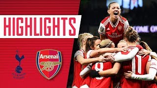 HIGHLIGHTS | Tottenham Hotspur 0-2 Arsenal Women | Little & Miedema secure victory