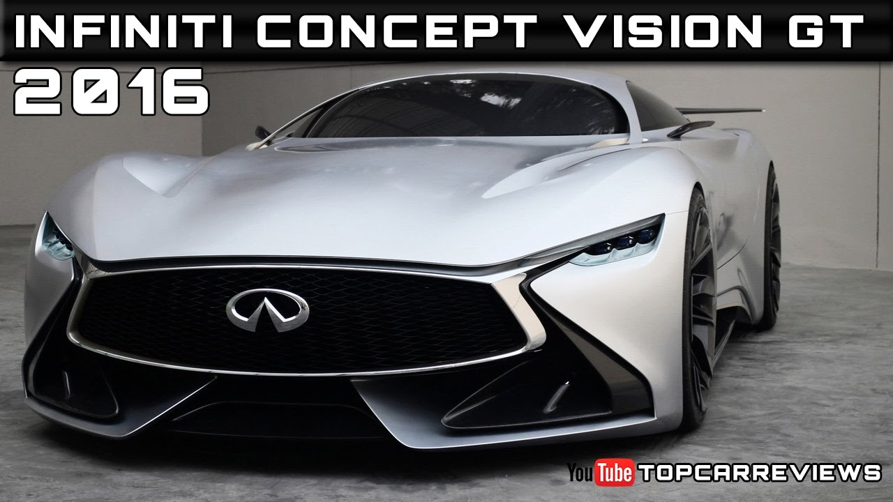 2016 Infiniti Concept Vision GT Review Rendered Price Specs Release ...
