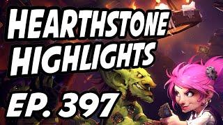 Hearthstone Daily Highlights | Ep. 397 | TrumpSC, Tholwmenos, Savjz, Justine_HS, xChocoBars, Pathra