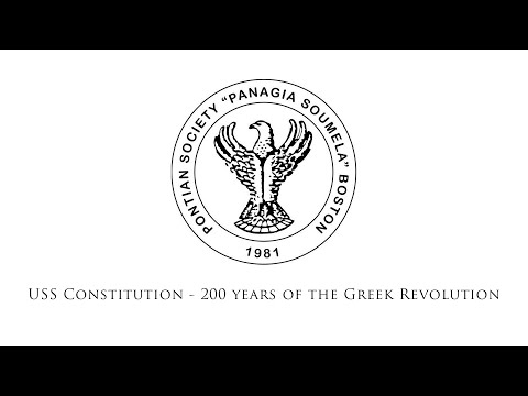 March 25, 2021: USS Constitution - 200 years of the Greek Revolution
