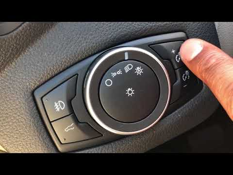FORD ESCAPE - INSTRUMENT PANEL DIMMING AND ILLUMINATING - HOW TO