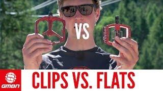 Do Flat Pedals Win Medals? | Clips Vs. Flats
