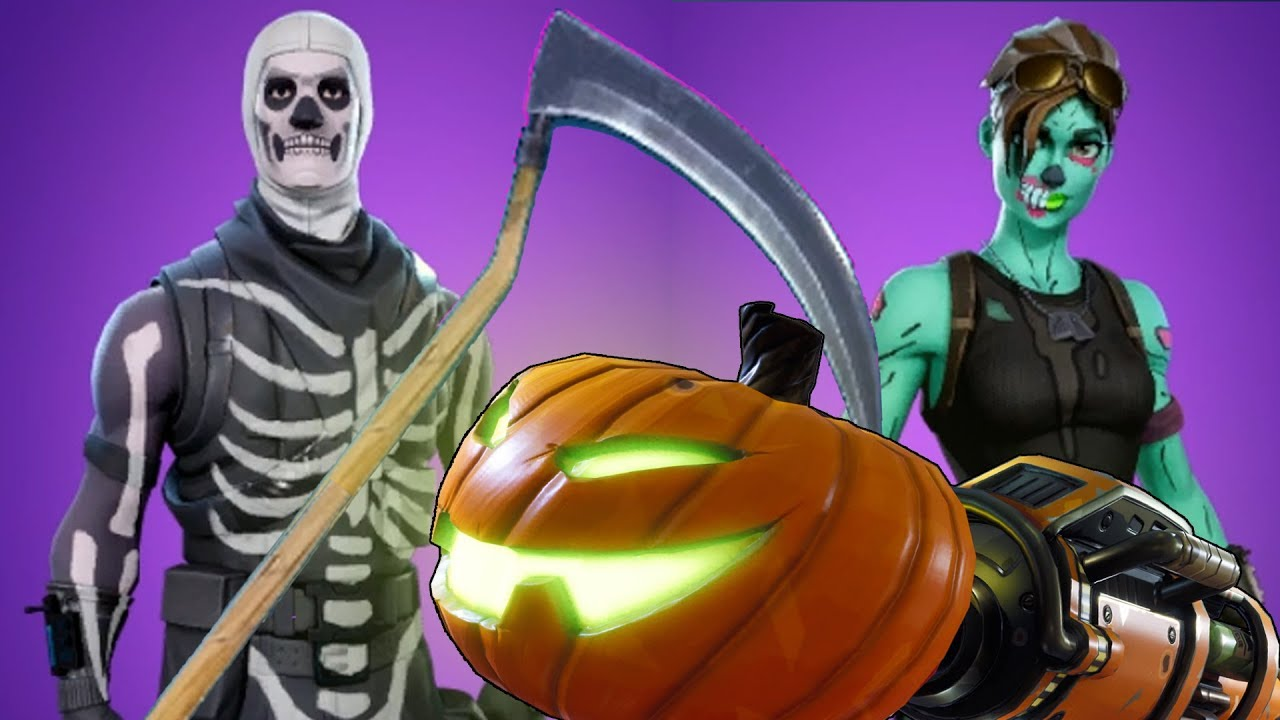Halloween Fortnite.Fortnite Battle Royale Halloween Update Spooky Skins Customization