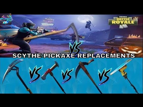 Which Pickaxe Sounds Like The Scythe?-(Cliffhanger,Batsickle,Axecalibur,Ski Boot) Test