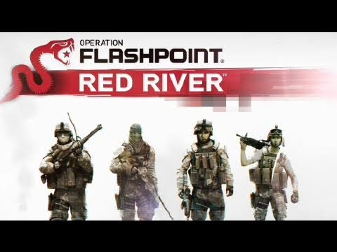 Operation Flashpoint: Red River - First Look: The Stage is Set Gameplay Trailer *DE Subtitles* | HD