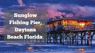 Sunglow Fishing Pier, Daytona Beach Florida #TravelTips #Fishing