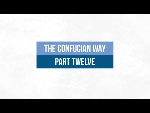 The Confucian Way 12: Wu-wei, the Art of Doing Nothing