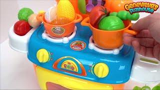 Educacional Para Bebes Ensine aos miúdos os nomes da Comida com o Filme para Crianças da Cozinha