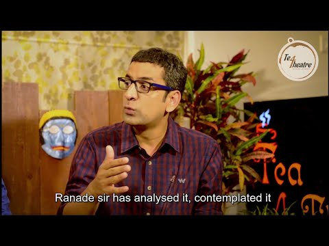 T4T | Tea 4 Theatre | Epsiode 4: Narration in Theatre with Ashutosh Potdar