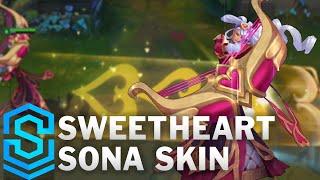 Sweetheart Sona Skin Spotlight - Pre-Release - League of Legends