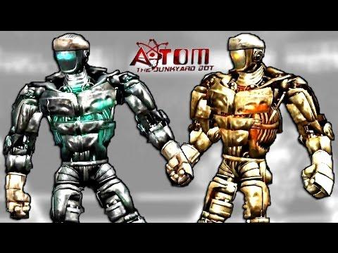 Real Steel Atom VS ATOM GOLD (People