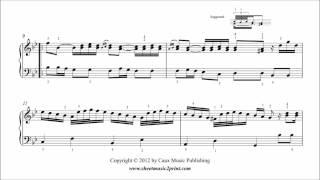 Scarlatti : Sonata in G minor - ABRSM 2013-2014 Grade 4 A3