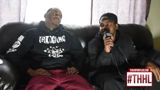 Lando interviews SmokeCamp Chino talks Rocaine, who's in Glo Gang & reaction to Dee Potts Diss Song