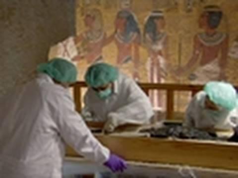 King Tut Unwrapped - King Tut's DNA | Royal Blood - YouTube