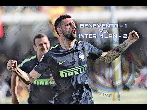 BENEVENTO Vs. INTER MILAN 1-2 [ 01/10/2017 ]
