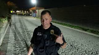 UPLAND POLICE GO HANDS ON WITH ME 1ST AMENDMENT AUDIT