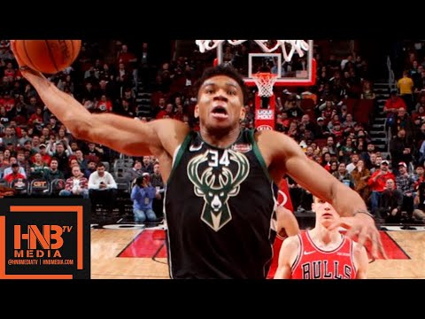 Milwaukee Bucks vs Chicago Bulls Full Game Highlights | 02/11/2019 NBA Season
