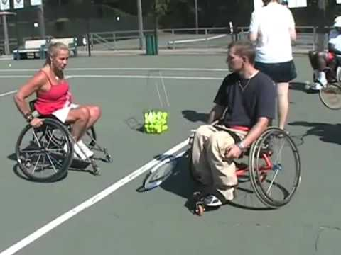 Welcome to Wheelchair Tennis