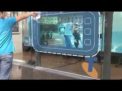 Interactive Augmented Reality Window