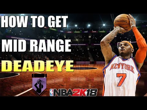 NBA 2K18 - How To Get Mid Range Deadeye Badge Without Getting Cold Zones