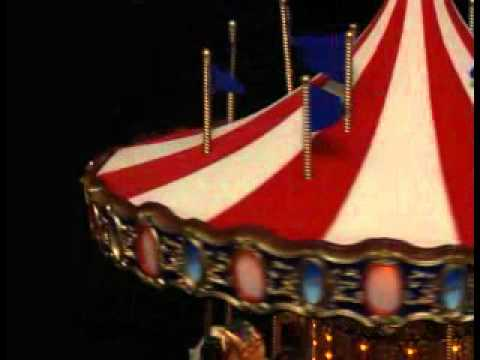 75th Anniversary Carousel - Mr. Christmas