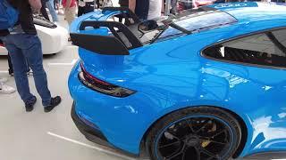 IAA Munich 2021 - Porsche (911 GT3, Mission R, 919 Street, Taycan)