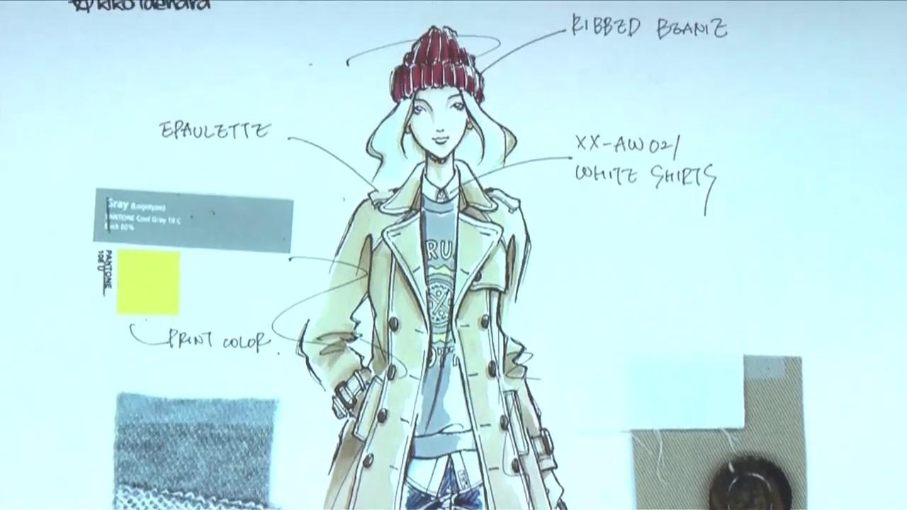 Sampleファッションデザイナーの仕事 Youtube
