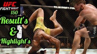 UFC Fort Lauderdale Results & Highlights : Jacare vs Hermansson