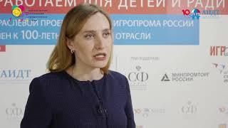 Нина Никонова, генеральный директор АО ''Смоленская чулочно-трикотажная фабрика ''Наше''
