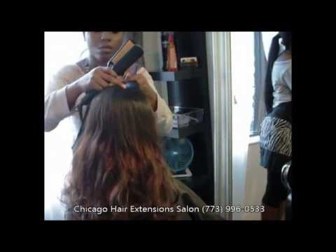 Chicago hair extensions salon sew in method youtube pmusecretfo Image collections