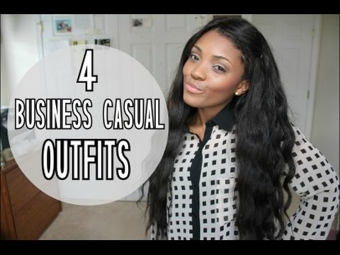 LOOKBOOK   4 Business Casual Outfits