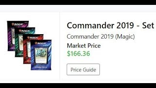 Commander 2019 is to high