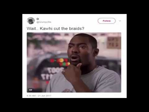 The internet is freaking out about Kawhi Leonard's new hairdo
