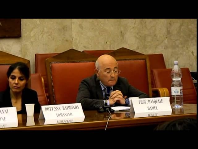 MEG Onlus Prof. Pasquale Hamel  - La democrazia in Europa. L'uomo al centro di un progetto