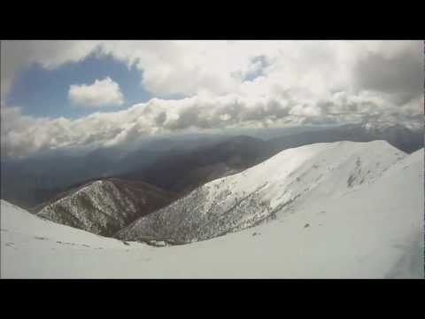 Mt Feathertop bicycle,bushwalk,ski Adventure.2011..wmv