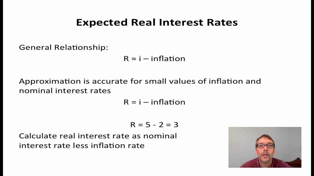 2 - Expected Real Interest Rates - YouTube
