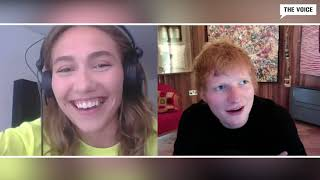 The Voice interview med Ed Sheeran - 'Bad Habits'